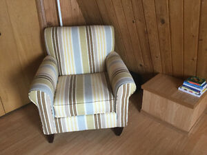 Striped Chair - Perfect for living or sitting room