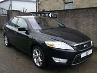 10 60 FORD MONDEO 1.8 TDCi SPORT TURBO DIESEL 5DR BLACK ALLOYS SATNAV CRUISE FSH