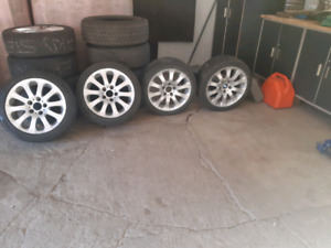 4 Mags roues bmw 17 pouces