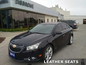 2014 Chevrolet Cruze 2LT   Rally Sport Package, Leather, Sunroof