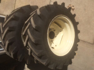 2 Carlisle Tru Power Agricultural tires