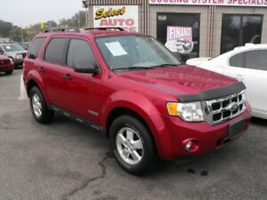 2008 ESCAPE 4X4  LOADED  NEWER TIRES  DROP BY TODAY  !!!