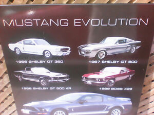 Ford Mustang Evolution Wood Picture London Ontario image 2