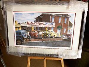 Limited Edition Print Automotive Art 'THE WHEELER DEALER' Kitchener / Waterloo Kitchener Area image 1