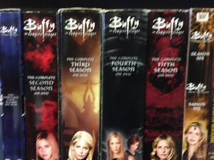 Buffy The Vampire DVD Box Sets $8 & over 150 TV Titled Box Sets
