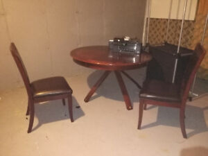 Dining table and chairs $50