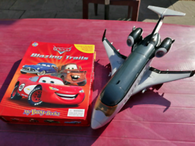 Disney cars plane and cars book playset.