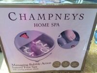 Luxury foot spa