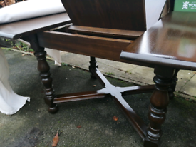 Ercol Oak Dining table & 6 chairs