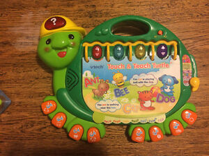 Tech Touch and Teach Turtle Book