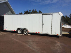 25 foot American pace cargo trailer