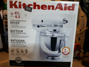 Kitchen Aid counter top mixer. Asking $300.00.