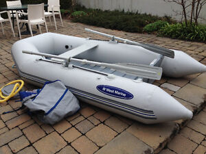 Dinghy inflatable