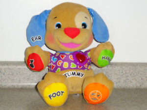 FISHER-PRICE LAUGH AND LEARN PUPPY