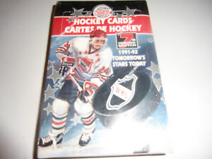 WHL Hockey cards Wax 91-92