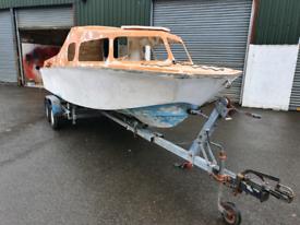 Microplus 501 Explorer Boat Galvanised Trailer