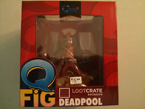 QMX QFig Deadpool Loot Crate Exclusive Figure  $15