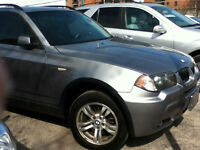 2006 BMW X3, 2 TO CHOOSE FROM