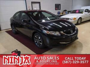 2013 Honda Civic Sedan EX  Auto Eco Heated Sts Safetied