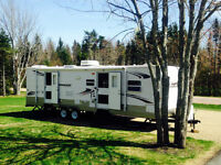 SOLD 2009 Conquest 30TBR With Bunks, Two Slideouts, 2 Bedrooms