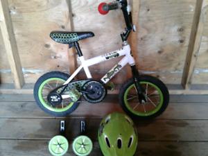 Boys bicycle set