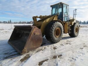 2000 CATERPILLAR 950G W/BUCKET & FORKS AT www.knullent.com