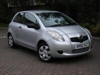 FINANCE AVAILABLE!! 2006 TOYOTA YARIS 1.0 VVT-i T2 3dr, 1 YEAR MOT, ONLY 60000 M
