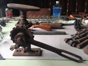 Salvage Hardware Vintage and Antique/Metal and Wood/Iron, glass