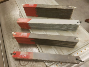 Blades for cutting metal