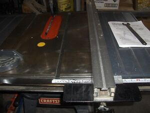 """+++ NEW PRICE +++ CRAFTSMAN 10"""" CONTRACTOR'S  TABLE SAW"""