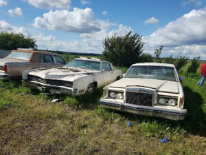 6 collector cars for sale ready for restoring