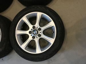 BMW 5x120 pattern wheels and tires