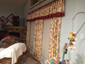 Lined Curtains and Valances
