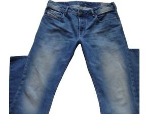 ITALY DIESEL JEANS ZATINY.SZ.33x33 WASH 008AT REGULAR -BOOTCUT.