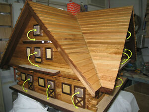 PURPLE MARTIN CUSTOM BUILD BIRD HOUSES