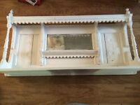antique East Lake Style hutch or shelf