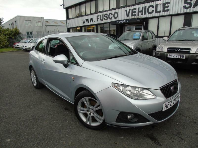 2010 seat ibiza 1 6 tdi cr sport silver long mot 2017. Black Bedroom Furniture Sets. Home Design Ideas