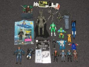 Vintage 1980's and 1990's Toys and Action Figures