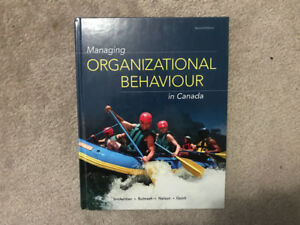 Nelson Organizational Behaviour textbook (Canada 2nd edition)