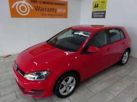 RED VOLKSWAGEN GOLF 1.6 MATCH TDI BLUEMOTION TECHNOLOGY ***FROM £43 PER WEEK***