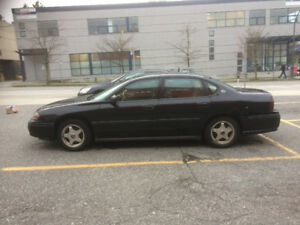 2003 Chevrolet Impala, Black Sedan 4 Door - $850