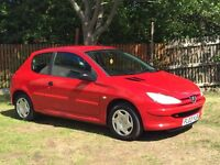 PEUGEOT 206...1.1 IDEAL FIRST CAR CHEAP TO INSURED FREE DELIVERY 695