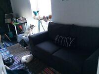 John lewis charcoal grey sofa