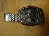 Imitation Omega Multi-Function Men's Watch with Metal Strap