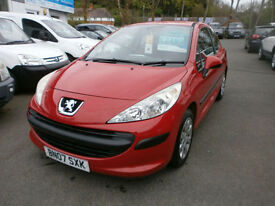 Peugeot 207 1.4 16v 90 ( a/c ) S 78K WITH FSH STUNNING CONDITION THROUGHOUT