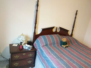 Moving Sale: Bed Room set/  Ikea Teak Table   6 Chairs