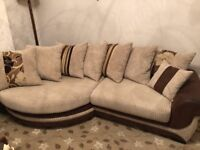 SCS Kirk 4 seater corner sofa, with upgraded foam cushion