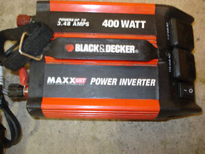 Power inventer Black et Decker 400 watts.
