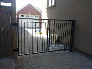 Wrought Iron Metal Railings, Handrails, Welding, Gates, Fences London Ontario image 9