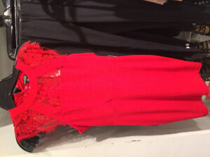 Red Dress Size 6 Brand New